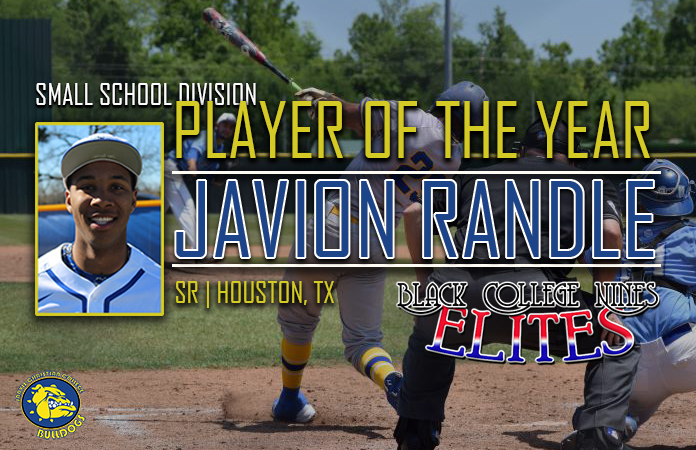 Photo for Black College Nines Selects Javion Randle as Player of the Year