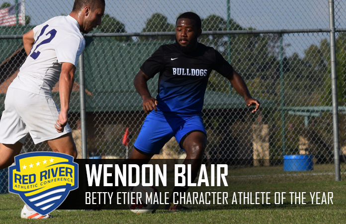 Photo for BLAIR NAMED FIRST RRAC BETTY ETIER MALE CHARACTER ATHLETE OF THE YEAR