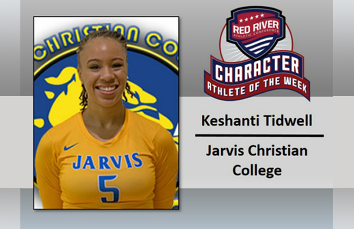 Photo for JCC's Kenshanti Tidwell recognized for character on and off the court